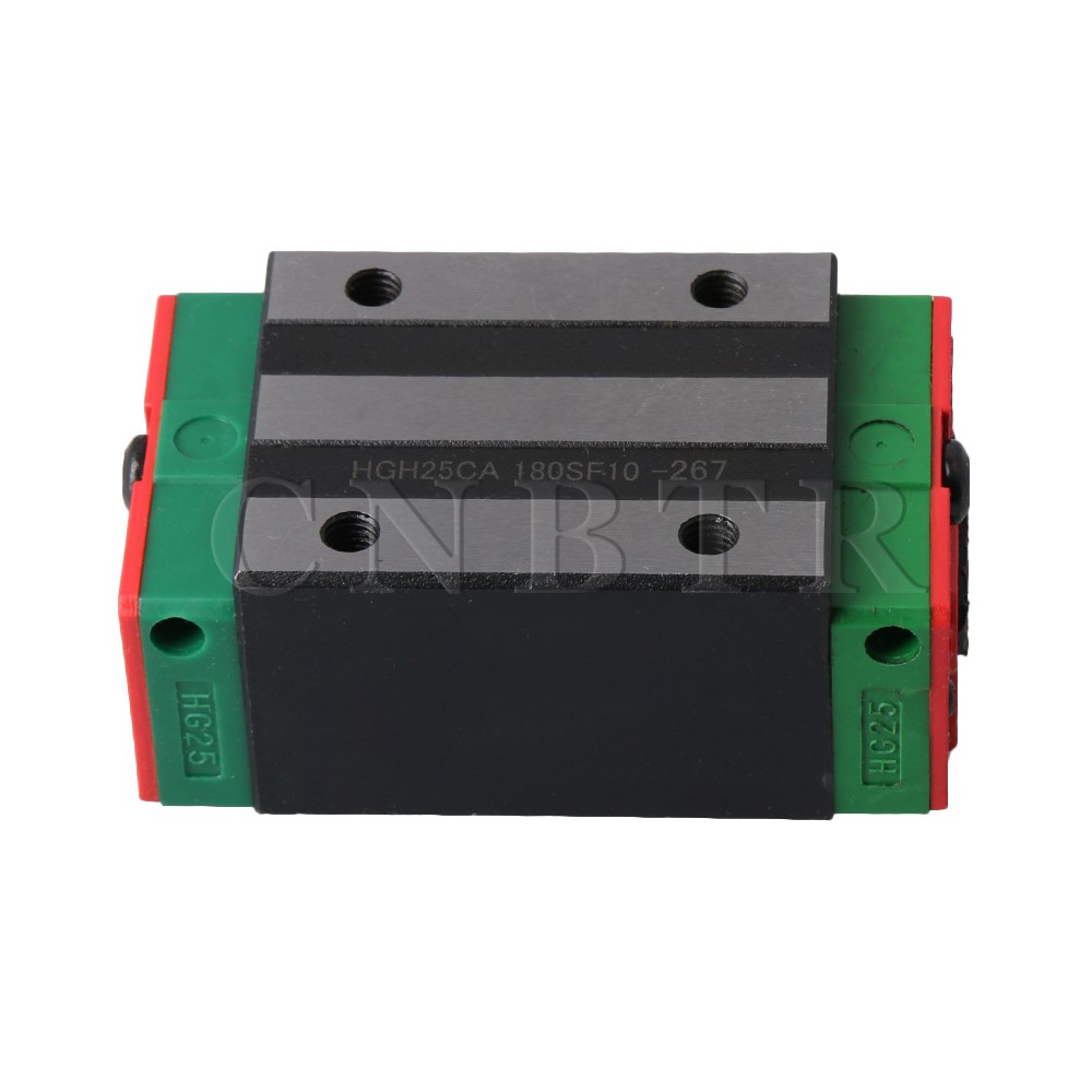 CNBTR HGH25CA Linear Guide Rail Sliding Block Carriage Rail Block Slider for HG25 Linear Rail Guideway large format printer spare parts wit color mutoh lecai locor xenons block slider qeh20ca linear guide slider 1pc