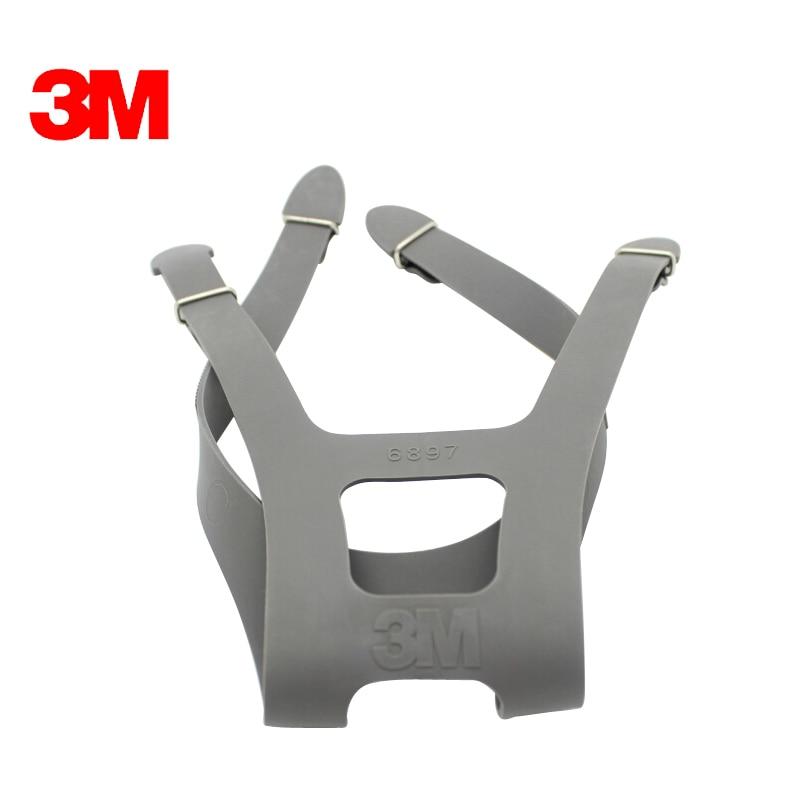 3M 6897 Headband Full Face Mask Accessories Adjustable Fit Fir 6700/6800/6900 Mask LT1004