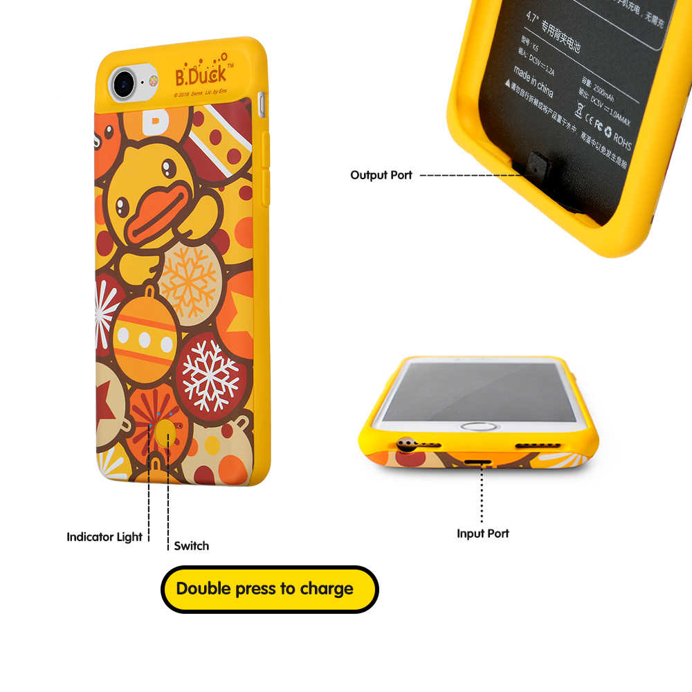 iphone 6s charger case yellow