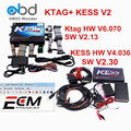 DHL Libre V4.036 V6.070 Ktag KESS V2 OBD2 ECU Programador de Software k-tag V2.13 V2.30 Kess KESS Maestro Versión K TAG 2 Chip Tuning