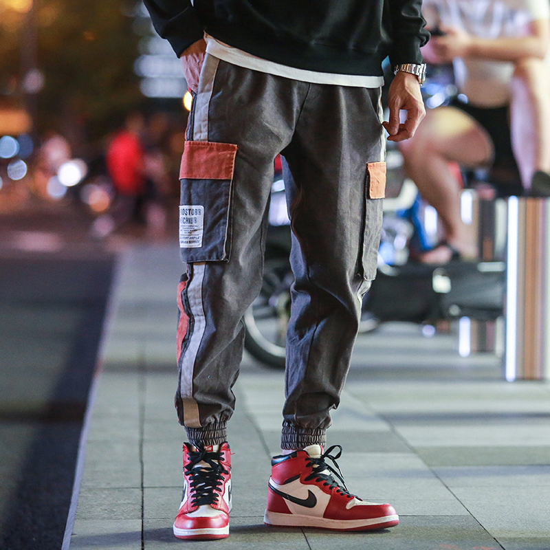 Large Size 5xl Hip Hop Pants Men Kpop Joggers Male Streetwear Trousers Harajuku Pantalones Hombre Joint Harem Pants Fashion