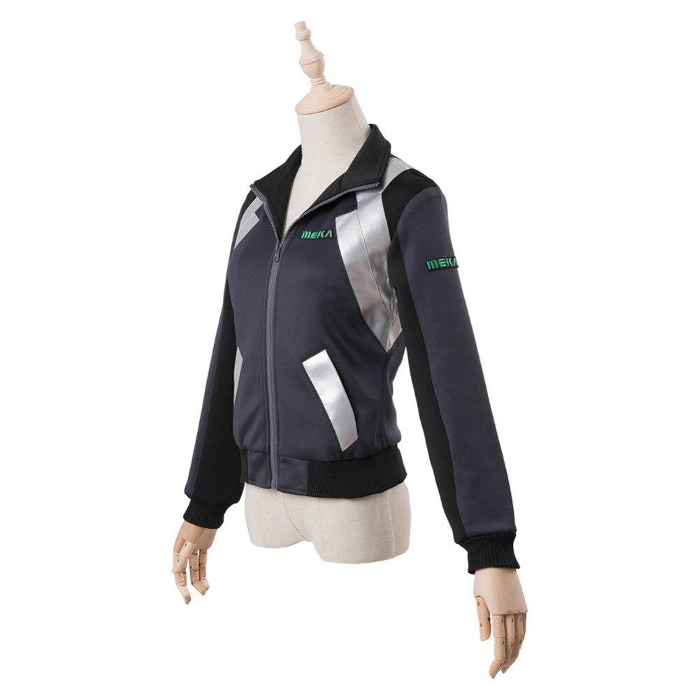 ¡Cosplay D Va DVA Hana canción Cosplay traje tiroteo chaqueta con estrella sudadera Halloween del traje de Cosplay de - 3