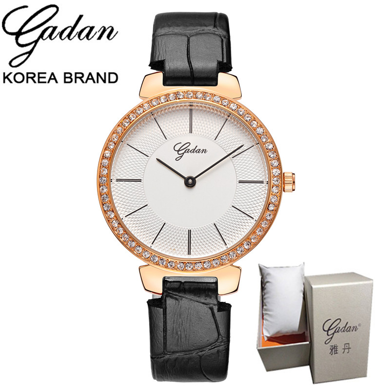 YADAN Women Watch Luxury Brand Fashion Casual Ladies Gold Watch Quartz Simple Clock Relogio Feminino Reloj Mujer Montre Femme top ochstin brand luxury watches women 2017 new fashion quartz watch relogio feminino clock ladies dress reloj mujer