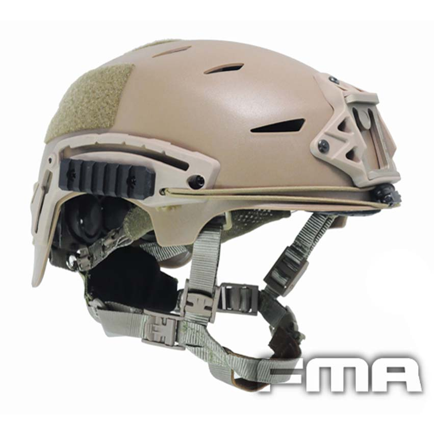 NEW High Quality Outdoor Airsoft Painball CS Protective FMA EX BUMP Helmet DE TB742 Free Shipping fma maritime helmet multicam black tb1084