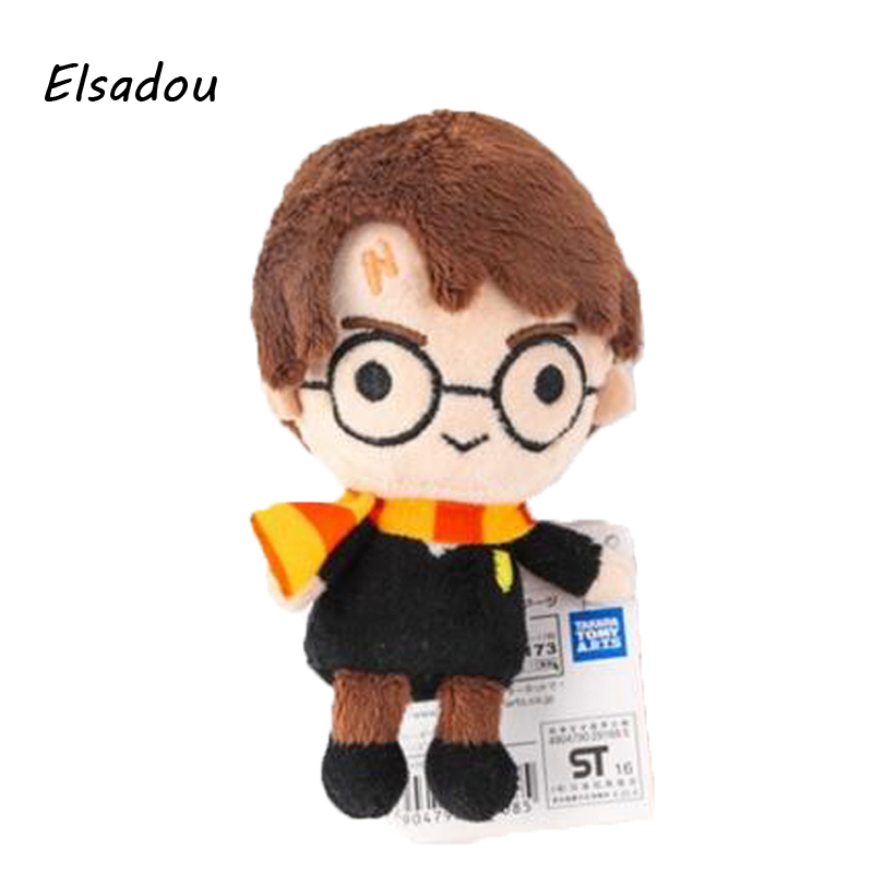 Nouveau Mignon Harry Potter En Peluche Jouet Poupées Q Version Malfoy Hermione Dobby Hibou Hedwig