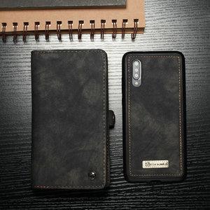 Image 2 - CaseMe Orijinal Cüzdan Telefon Samsung kılıfı Galaxy A50 Lüks 2 in 1 Çok fonksiyonlu Ayrılabilir Deri Samsung A 50 kılıfları