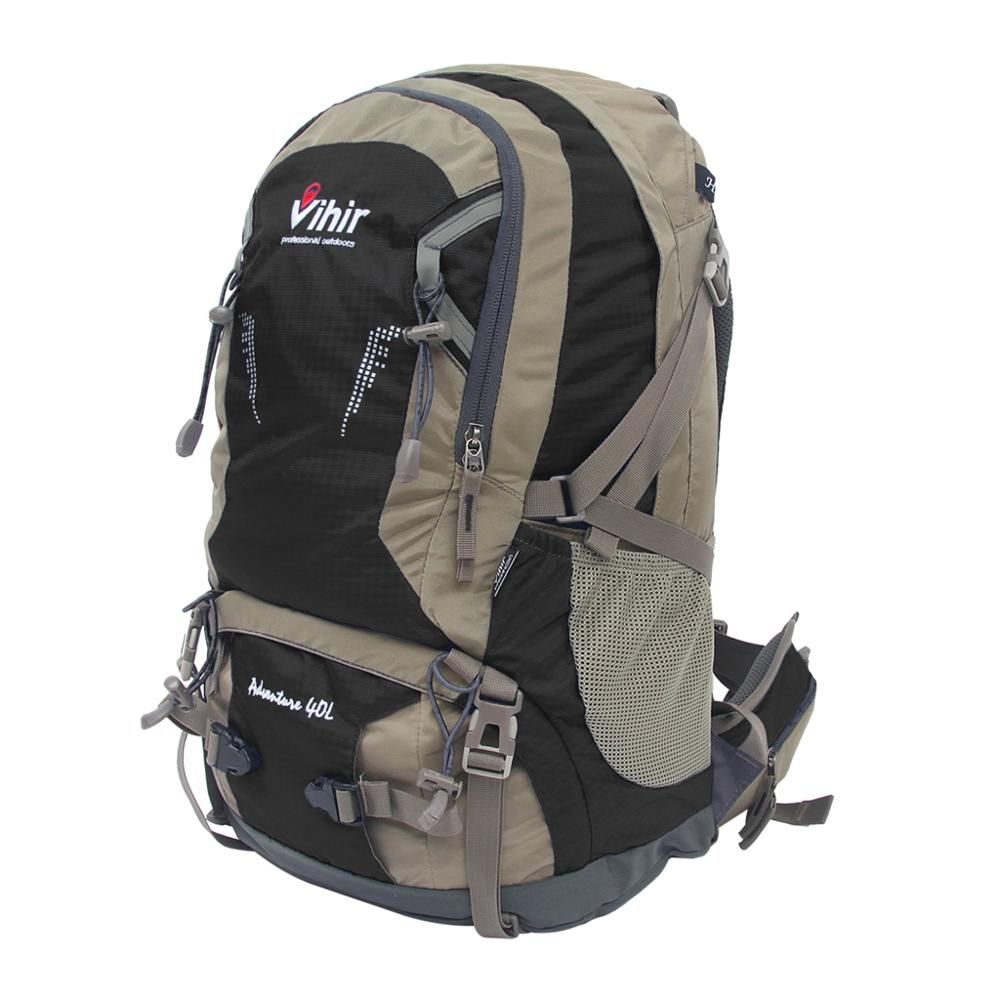 Vihir Waterproof Outdoor Sport Camping Shoulder Bag Travel Hiking Backpack Moutain bicyle Cycling backpack with Rain
