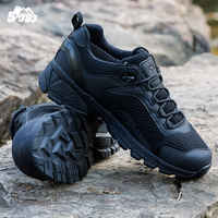 2019 Men's Outdoor Low Top Desert Military Combat Short Boots Men Waterproof Desert Army Tactical Hiking Hunting Shooter Shoes