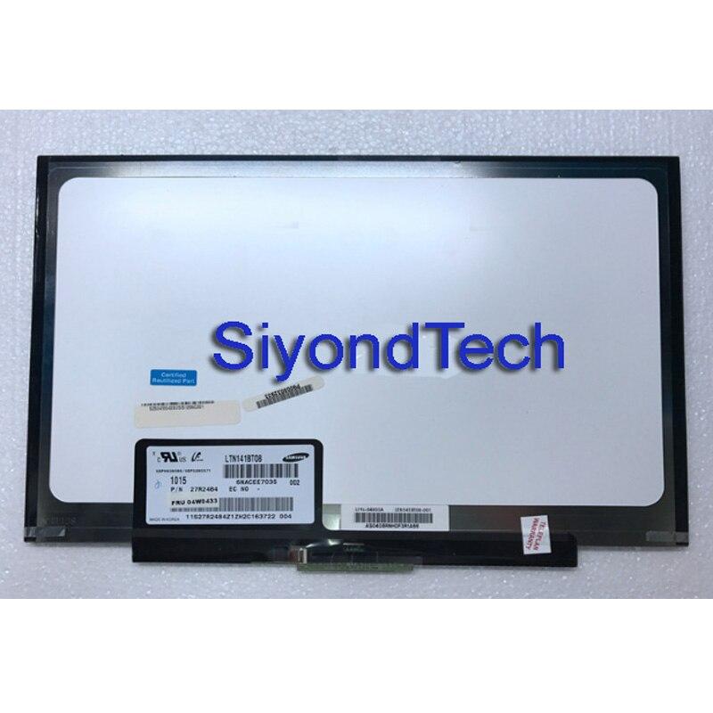 For IBM T400s T410s T410si LCD Panel Matrix WXGA+ LTN141BT08 LT141DEQ8B00 1440*900