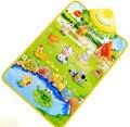ECC Fazenda Russa tapete tapete infantil brinquedo do bebê Musical esteira do jogo Animal 60*40 cm