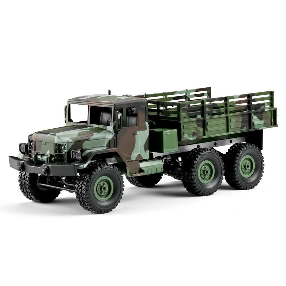 Simulación niños juguete camión modelo regalo todoterreno vehículo Control remoto camuflaje a prueba de golpes niños cuatro canales