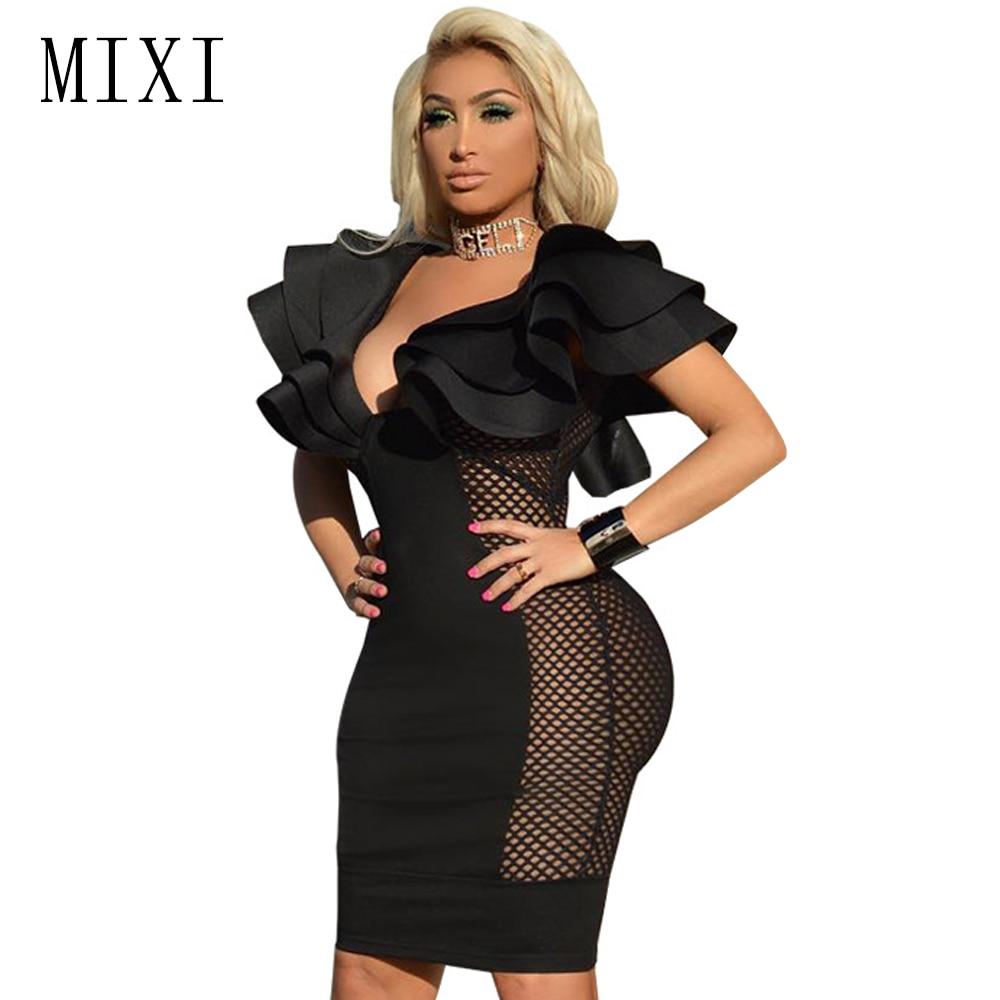 Bodycon dress sheer as seen on tv fashions