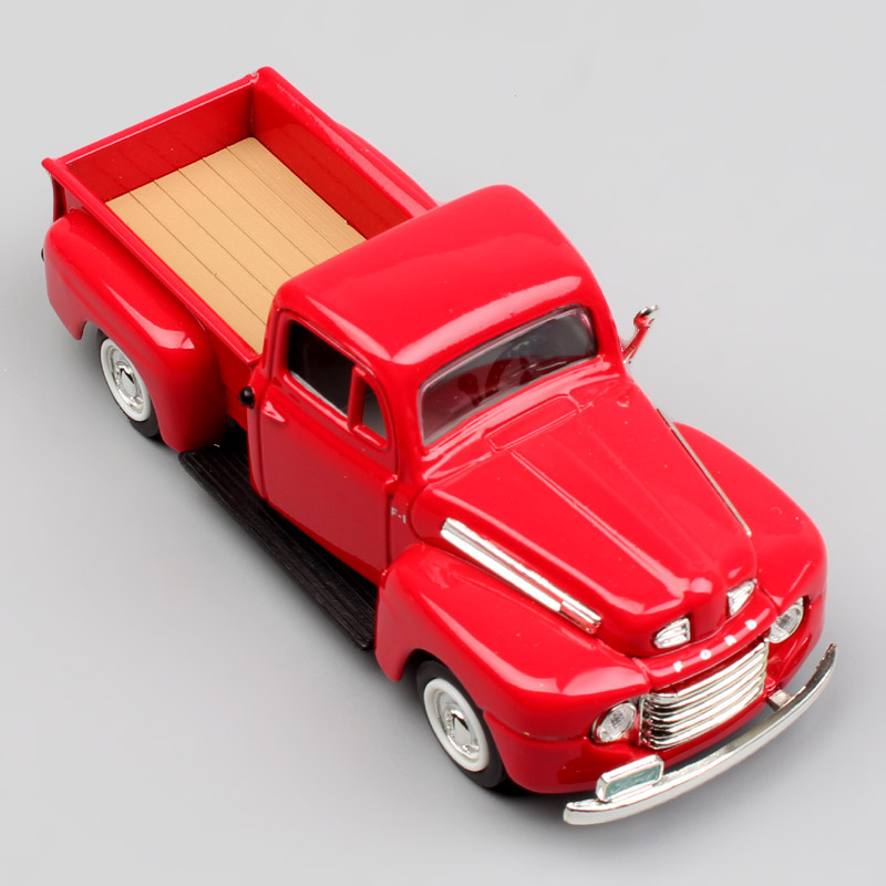 1/43 Scale 1948 Ford Pick-UP F-1 F-Series Super Duty The Trucks Bonus Pickup F1 Metal Diecast Model Miniatures Cars For Children