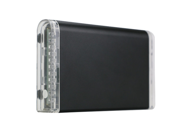 "Aluminio Sata a Esata HDD/SSD Caja 2.5 ""esata USB 2.0 Caja HDD Disco Duro Externo de Alta Velocidad de Disco Duro"