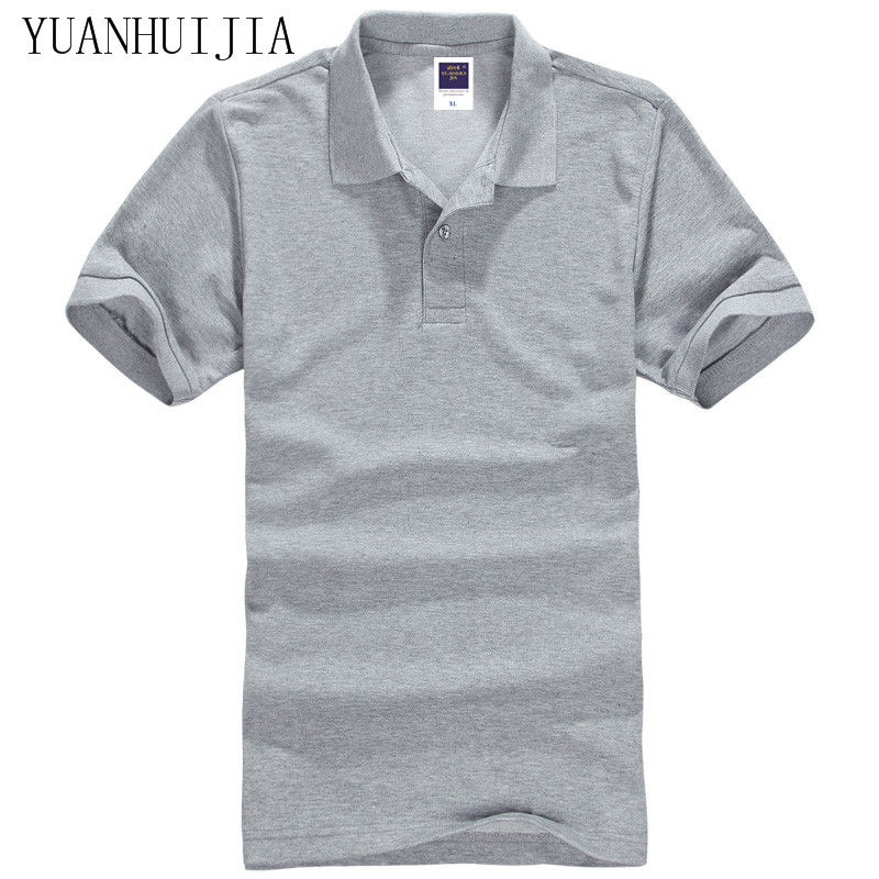 19 color mens polo shirt brands slim fit casual polo for Polo brand polo shirts