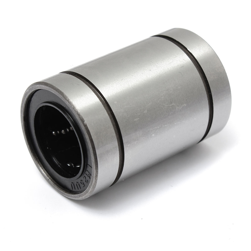 2017 HOT LM25UU 25mm Linear Ball Bearing Bush Bushing Steel 25x40x59mm 6 Ball Rows Industry Parts 1pc scv40 scv40uu sc40vuu 40mm linear bearing bush bushing sc40vuu with lm40uu bearing inside for cnc