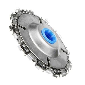 Image 4 - ล้อถ้วยบดอุปกรณ์เปลี่ยนแกะสลักโลหะผสมเงิน W/ตัดโซ่ขัดมุมตัด Chainsaw