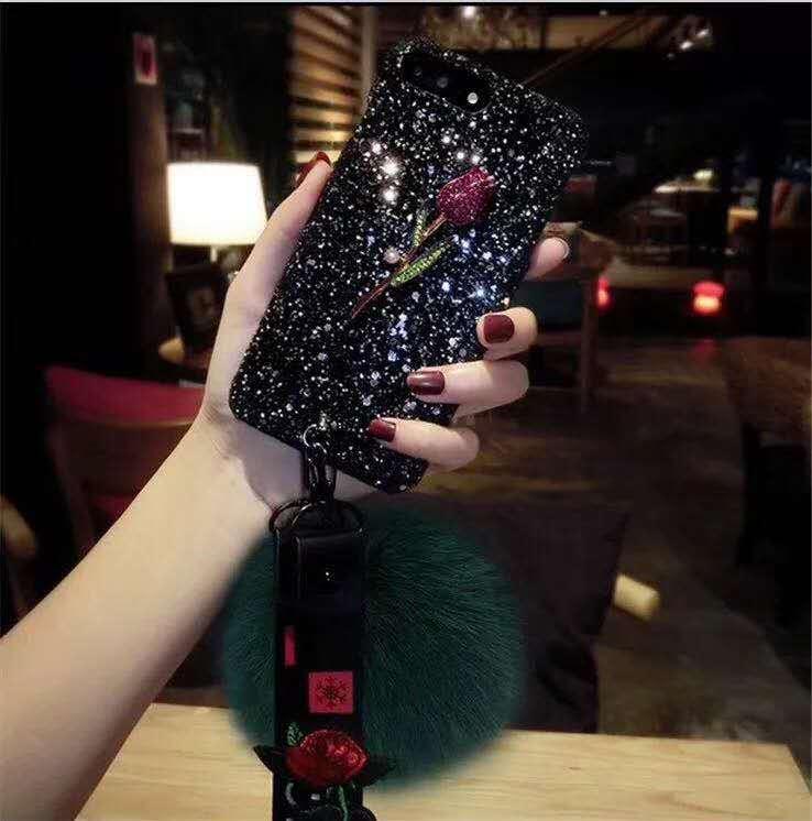 Luxury Bling Glitter Shining Flash Powder Cases For Huawei Nova4 Nova3 3i Nova2lite Nova2i Plus PC Hard Cover Back Y9 2019 8X