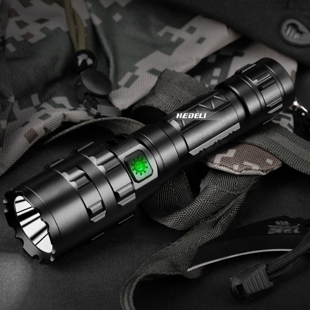 tocha recarregável caça led lanterna cree xml l2 mão lâmpada