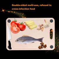 National Patent Kitchen Board Valley Fiber Antibacterial Drilling Food Slice Cut Kitchen Cooking Tools Cutting Board