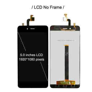 Image 2 - Pantalla LCD de 5,0 pulgadas con marco para ZTE Nubia Z11 mini NX529J, montaje de digitalizador con Sensor táctil, nueva