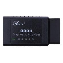 Авто Мини-Автомобиль V2.1 OBDII ELM327 Bluetooth ELM 327 OBD2 OBD ii CAN-BUS Диагностический Автомобилей Сканер Инструмент Для Android Symbian Windows PC