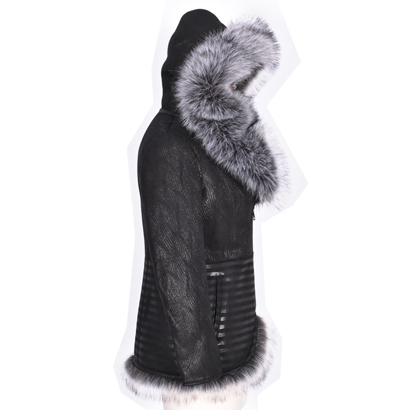 21daccb5f01e8 Factory direct supply Winter women coat fur Faux suede thick 2017 ...