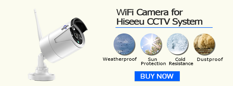 IP Camera for Hiseeu CCTV System