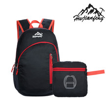 Heißer Verkauf Langlebig Unisex Männlichen Wasserdicht Faltung Packable Leichte Reisetasche Softback Rucksack Für Männer Daypack frauen Rucksack