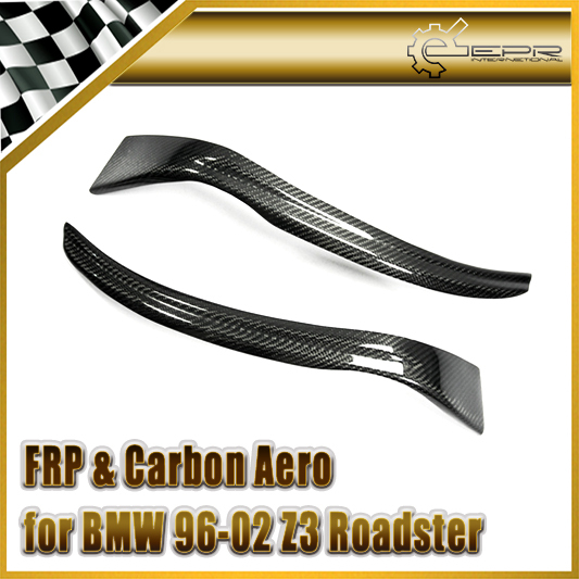 new car styling for bmw 1996 2002 z3 roadster carbon fiber headlight eyebrow eyelid 2pcs bmw z3 roadster e36 1996