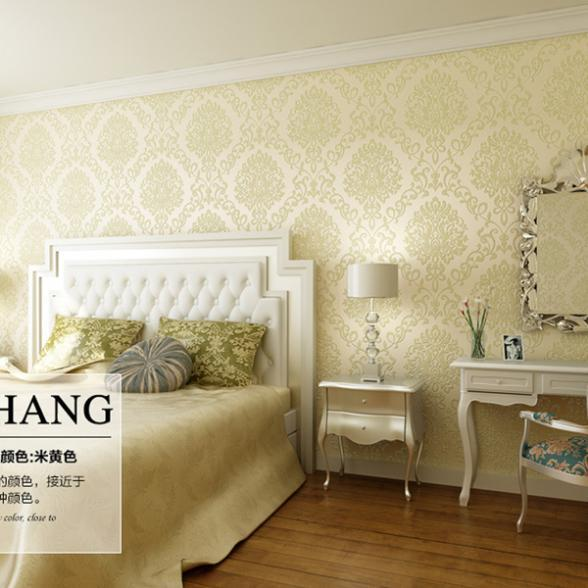 Beau Luxury Living Room Backdrop Art Design Wallpaper Bedroom Roll Paper Art  Damascus Brocade 3d Flowers Wallpaper
