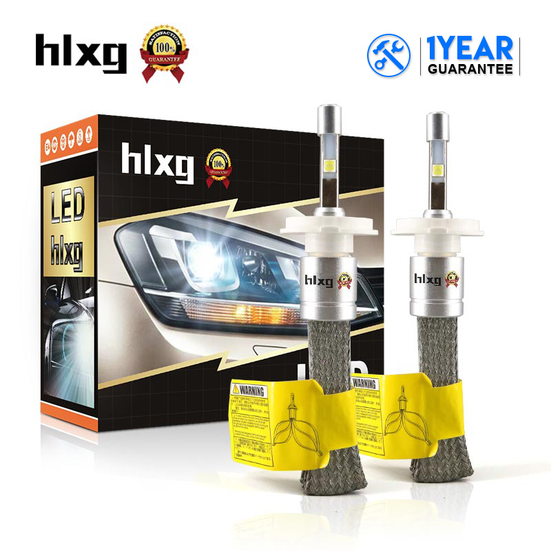HLXG 9005 9006 HB4 Car Led Headlight Bulb Car Light 12V 80W 9600LM Fast Cooling H11 H7 Led H4 Automobile Headlamp Fog Light N2 12v led light auto headlamp h1 h3 h7 9005 9004 9007 h4 h15 car led headlight bulb 30w high single dual beam white light