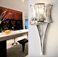 Modern Art led crystal decoration Iron wall lamp wall light indoor lighting wall sconces for bedroom bathroom wall lamp