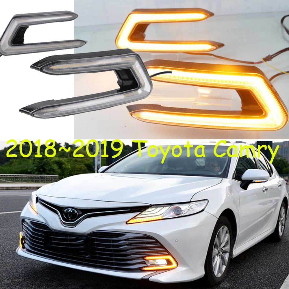 New Corolla Altis Video Harga Toyota All Yaris Trd 2015 2018 2019 Camry Daytime Light Car Styling Fog Lamp Accessories Vios Taillight