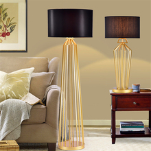 Modern LED Gold Marble Metal Desk Lamp Study Table Lights Bedroom Living Room Dormitory Stand lamp Lighting