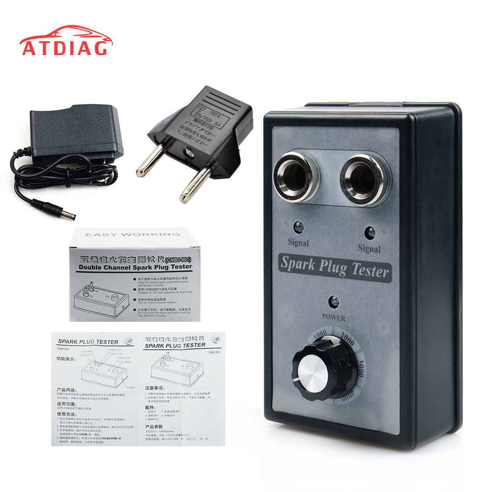Plug-Tester Diagnostic-Tool Ignition Gasoline Spark Petrol-Car Automotive for 12V Vehicles