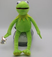 Chid toys Muppets Movie Kermit the Frog Exclusive Plush toys Sesame Street Doll Muppets Movie Kermit plush Stuffed Animal Doll(China)