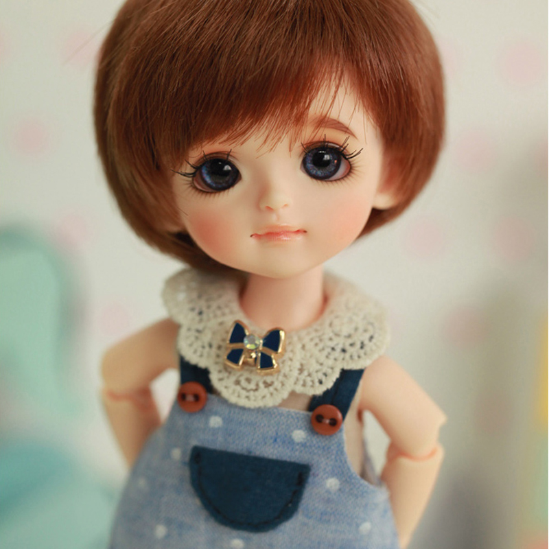 New Arrival 1/8 BJD Doll BJD/SD Cute Lovely Byurl-Basic Ver Resin Joint Doll With Eyes For Baby Girl Birthday Gift Present