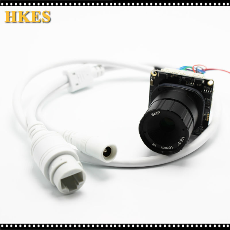 2pcs/lot 2MP IP Camera Module with RJ45 Port and 3MP Lens 4mm 8mm 12mm 16mm free shipping 5mp cmos ov5640 usb camera module with 2 1 2 8 3 6 6 8 12 16mm lens