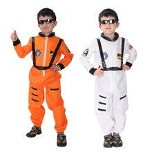 Umorden Purim Carnival Party Halloween Costumes Children Astronaut Cosmonaut Costume Boys Uniform Pilot Cosplay for Kids Boy