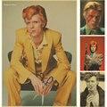 Decoração da casa do vintage David Bowie música rock cartaz quadrinhos retro papel kraft etiqueta da etiqueta impressa empate imagem decoração de parede Fotos