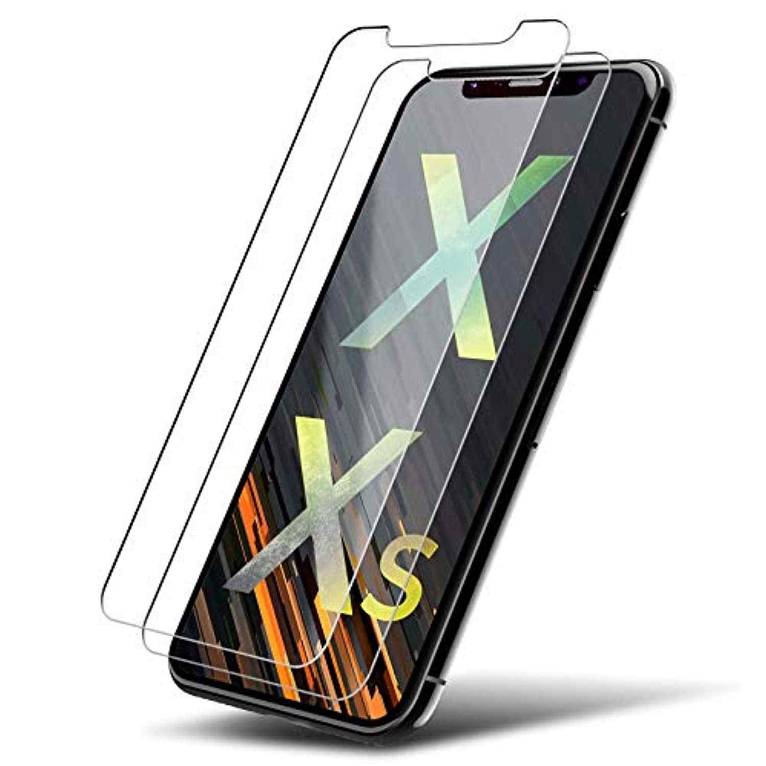 2pcs Tempered glass For iPhone XS Max X 7 8 6 6S Plus 5 5S 5C SE 4S 9H Screen protector Case Cover guard glass for iPhone X XR