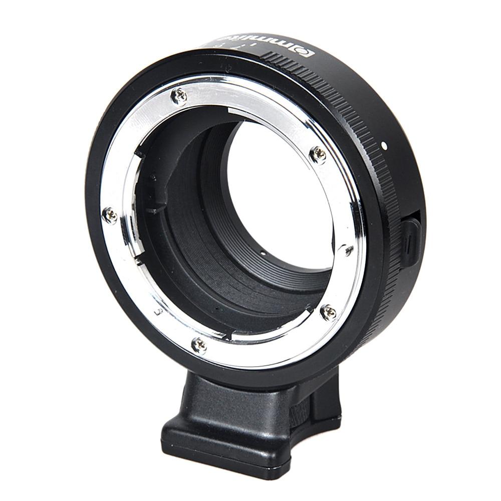 Adaptateur Commlite pour monture d'objectif avec cadran d'ouverture pour objectif Nikon F AF-S G vers appareil photo M4/3 MFT GH4 GH5 GF6 GX1 GX7 EM5 EM1 E-PL5 OM-D