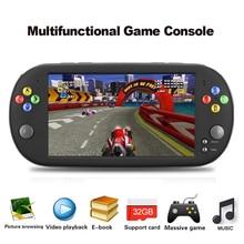 X16 El Oyun Video Taşınabilir Oyun Konsolu w/Çift Rocker GBA NES Oyunları Için Destek TF Kart Ile 7
