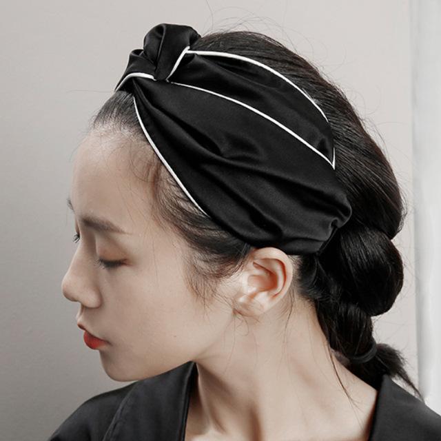 Satin Silk Women Head Scarf