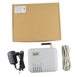 GSM Converter SIP IP Phone Adapter GOIP-1 LEDs Provide 1 Sim Card ports IMEI change support IP PBX FXS gateway