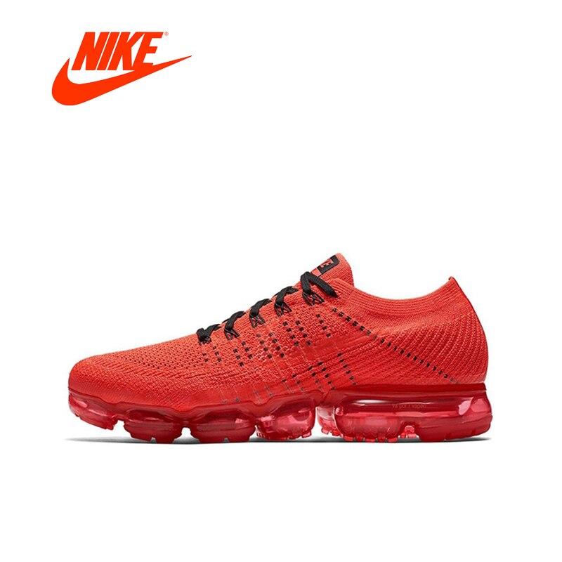 Nike femmes Air VaporMax Flyknit Originale Nouvelle Arrivée Authentique Chaussures de Course Sport Sneakers En Plein Air