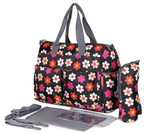 Multifuncional Bolsa de Pañales de Bebé Bebé Diseñador bolsa Maternidad Momia Bolsa Mojada Lavable Pul y Reusabl
