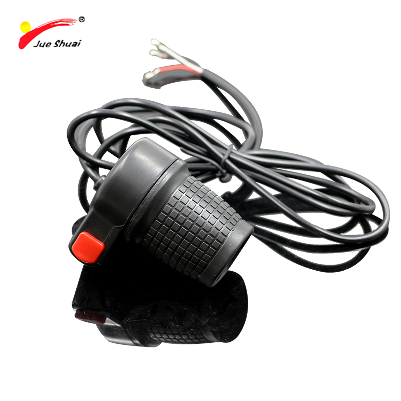 Jueshuai Electric Bike Throttle Light Horn Button Switch Electric Scooter Half Throttle Speed Handle Gas Wuxing Button Swicth