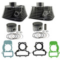 Motorcycle Engine Parts For YAMAHA XV250 XV250 Front & Rear Air Cylinder Block & Piston Kit & Cylinder Head Gasket